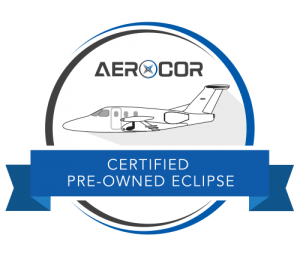 AEROCOR Certified Pre-Owned Eclipse 500 EA-500 seal