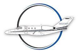N211jh Aerocor Airplane Icon