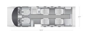 AEROCOR - Learning Center - Cessna Citation CJ1 - 7 Seat Configuration