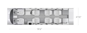AEROCOR - Learning Center - Cessna Citation CJ2 - 10 Seat Configuration