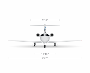 AEROCOR - Learning Center - Cessna Citation Mustang - Front View