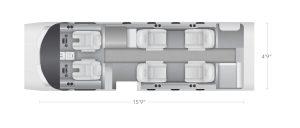 AEROCOR - Learning Center - Cessna CitationJet - 7 Seat Configuration