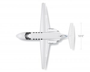 AEROCOR - Learning Center - Cessna CitationJet - Top View