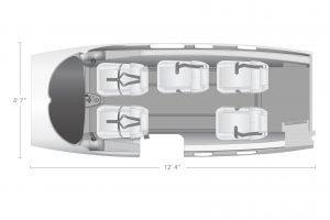 AEROCOR - Learning Center - Eclipse 500 - 5 Seat Configuration