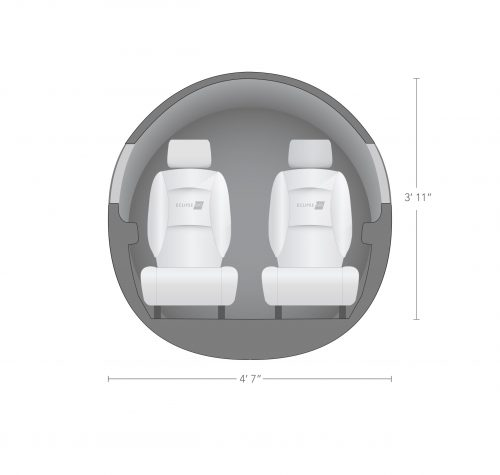 AEROCOR - Learning Center - Eclipse 500 - Cross-Section