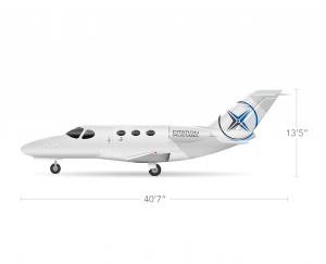 AEROCOR - Learning Center - Cessna Citation Mustang - Side View
