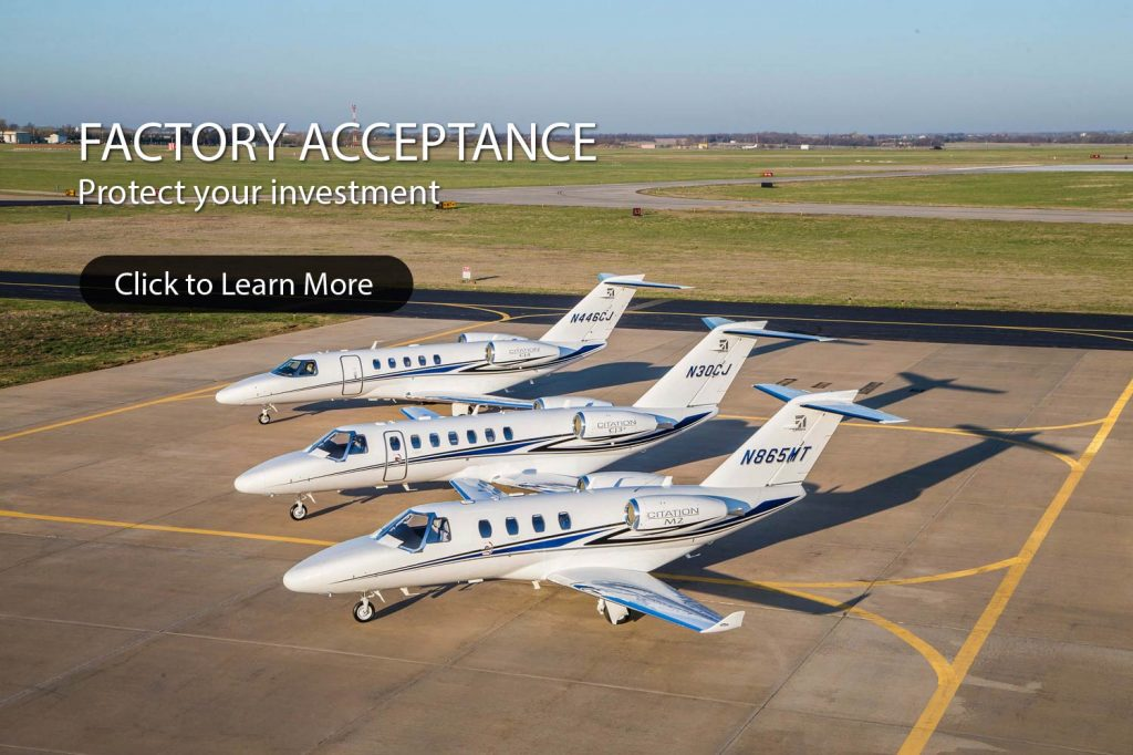 AEROCOR - Eclipse Jets - Factory Acceptance Background