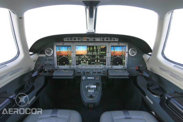 Aerocor Eclipse N800az Avionics 1