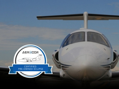 AEROCOR ANNOUNCES ECLIPSE CERTIFIED PREOWNED AIRCRAFT PROGRAM